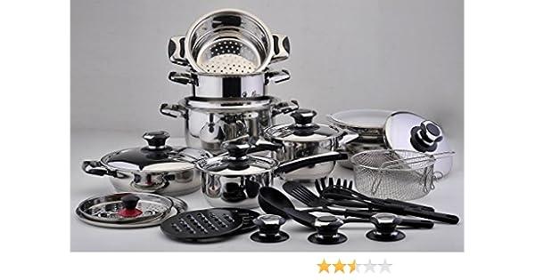 Batería de Cocina SOLINGEN 30 pz: Amazon.es: Hogar