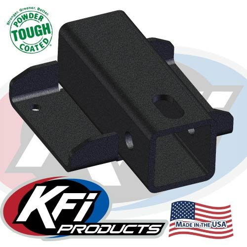 KFI Products 2014-17 Honda Pioneer 500 Universal Receiver Hitch (Front Upper) By 101240 101240-2014-17Pioneer500