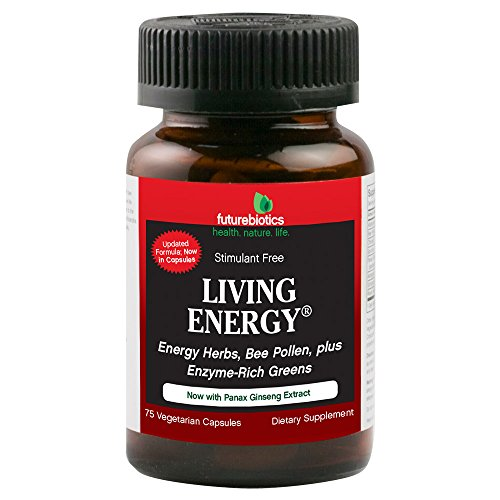 Futurebiotics Living Energy USDA Certified Organic, 75 Vegetarian Capsules