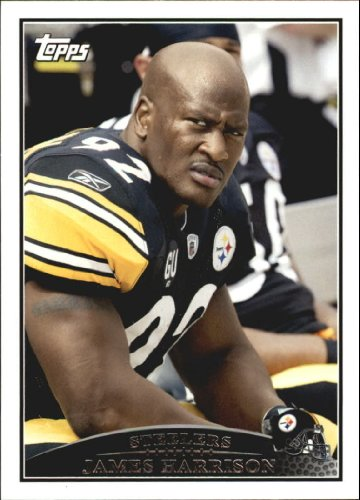 2009 Topps Football Card #231 James Harrison Near Mint/Mint - James Harrison Football