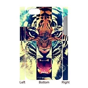 Custom New Case for iPhone 6 4.7 3D, Tiger Phone Case - HL-R66 4.75816