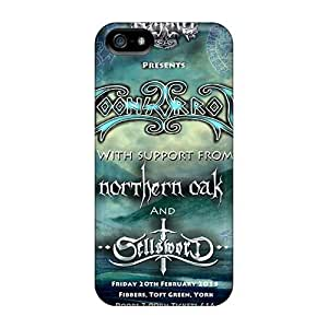 DannyLCHEUNG Iphone 5/5s Durable Hard Phone Covers Allow Personal Design HD Moonsorrow Band Series [ZfW7891ELmP]