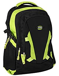 Utopia Home Premium Quality Office Laptop Backpack For Up-To 17-Inch Laptops - Lightweight Office Laptop / Notebook Case-Backpack - Easy To Carry - Black