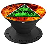 Shane Dawson 260012 Illuminati Fire PopSockets Stand for Smartphones & Tablets - PopSockets Grip and Stand for Phones and Tablets