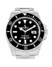 Rolex Submariner automatic-self-wind white mens Watch 116610 (Certified Pre-owned)