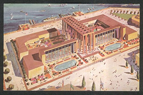 Majestic Gate - Majestic Federal Building Golden Gate Expo San Francisco CA 1939 postcard