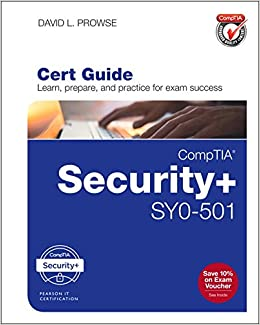 Comptia Security Sy0 501 Cert Guide Certification Guide