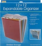 ADVANTUS CORPORATION Advantus Cropper Hopper Expandable Paper Organizer, Frost, 12-Inch-by-12-Inch