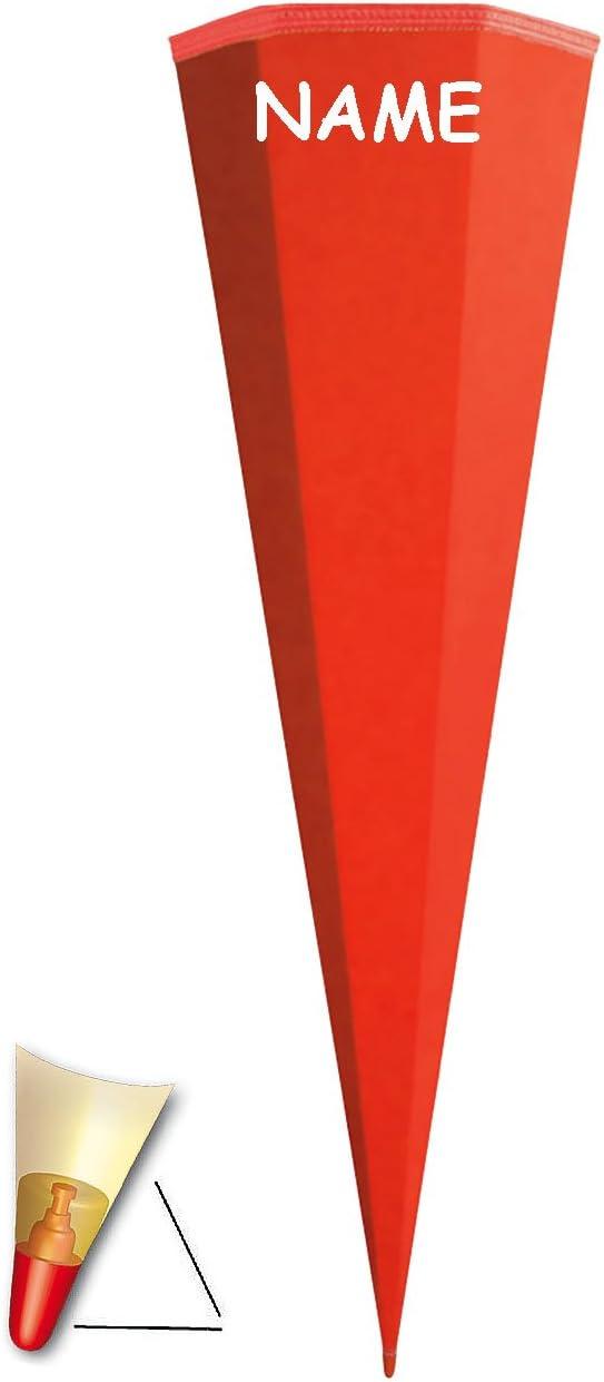 Rohling Schleife alles-meine.de GmbH personalisierte 3D B/änder mit // ohne .. WEI/ß einfarbig // Bastelschult/üte passend f/ür Schult/üte OHNE T/üll Abschlu/ß 35 // 50 // 70 // 85 // 100 cm
