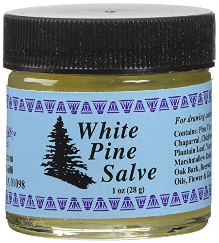 White Pine Drawing Salve 1 Ounces