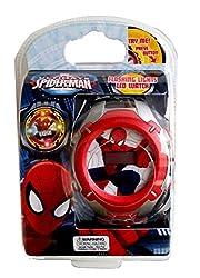Ultimate Spiderman Flashing Lights LCD Watch