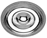 Wilton Armetale Flutes and Pearls Chip and Dip Server, Round, 15-1/2-Inch