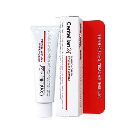 Centellian24 Madeca Facial Moisturizing Cream_Hydra 3X Formula, Centella Asiatica TECA Skin Renewal Moisturizer 50ml 1.69 fl. oz, Made in Korea