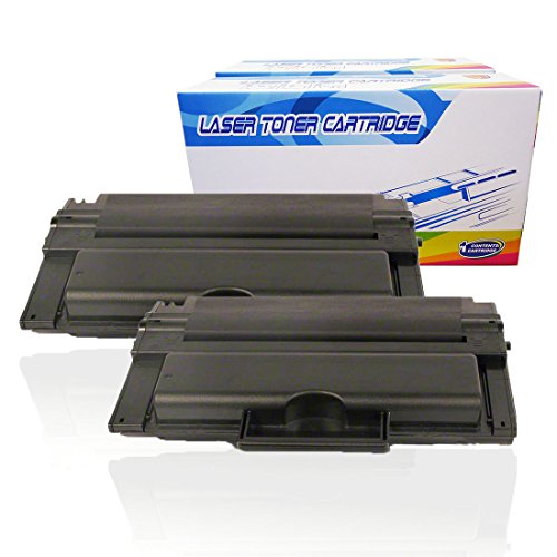 - Inktoneram Compatible Toner Cartridges Replacement for Dell 2335dn High Yield 330-2209 (Black, 2-Pack)