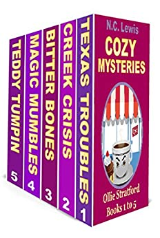 Ollie Stratford Cozy Mysteries: 5 Book Box Set: An Ollie Stratford Cozy Mystery by [Lewis, N.C.]