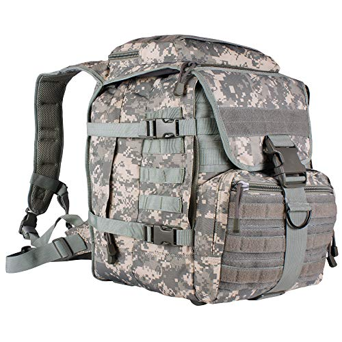 Fox Outdoor Products Flanker Assault Pack, Terrain Rubberized Digital