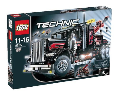 lego technic tow truck - 3