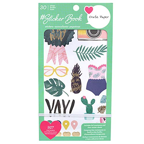 Heidi Swapp 314556 Color Fresh-Acrylic Stamp Set 23 Piece Multi