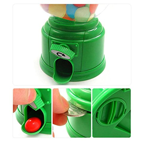 Amazon.com: Candy Bank,Classic Vintage Double Bubble Gum Machine Bank Candy Dispenser Gumball Toy by Dacawin (Pink): Arts, Crafts & Sewing