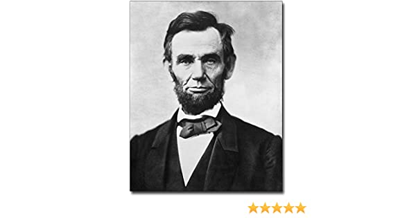 New 11x14 Photo President Abraham Lincoln Portrait Prior to Gettysburg Address