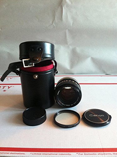 Canon lens FD 50mm %C3%9852mm Front product image