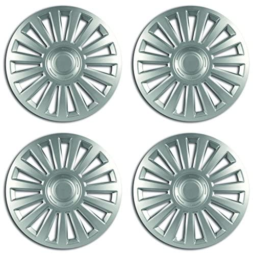 Rhino Automotive© 35,6 cm de luxe de voiture de 4 enjoliveurs Cover hub Caps X4 Rw1151 on sale