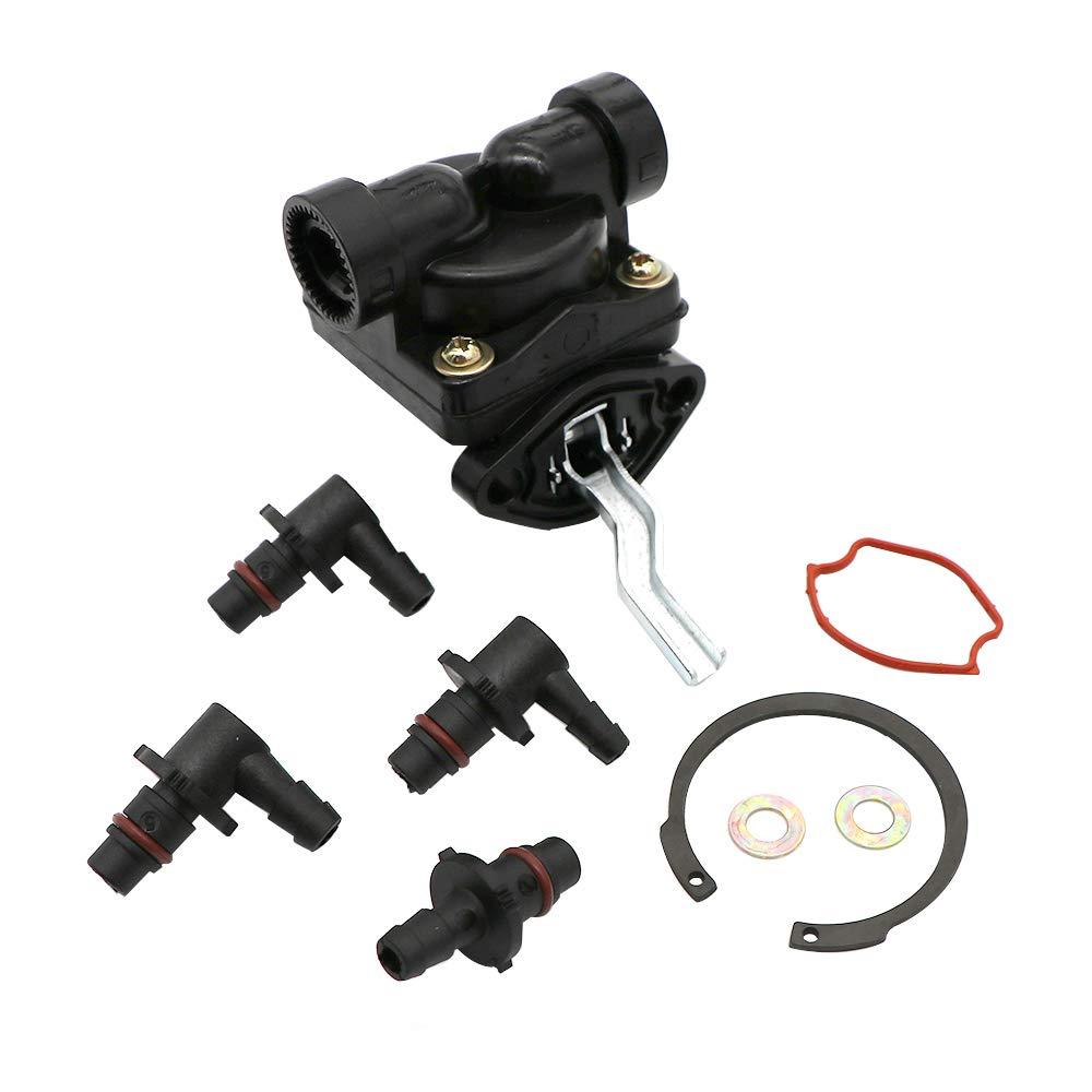 KIPA Fuel Pump for Kohler K141 K161 K181 M8 Lawnmower Generator Engine OEM Number 4155905-S, 4155902-S, A-231796-S, C-230361-S, 4139309-S, 4139310-S,4155901-S, 4155902-S, C230361S