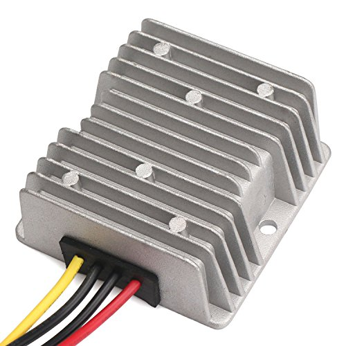 DROK Battery Power Supply High Power DC 300W 25A Voltage Regulator Transformer 36V 48V to 12V Step Down Voltage Reducer Buck Converter Input
