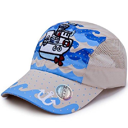 LLmoway Kids Lightweight Quick Dry Sports Sun Hat UPF50+ Mesh Baseball Cap Boys – DiZiSports Store