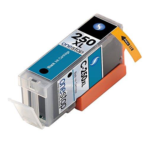 Mx Brand   Canon Cli 250 Xl High Capacity Black Ink Toner Cartridge Pack For Canon Cli 251  Pgi 250  Mx922  Mg6420  Mg5420  Mg6320  Ip8720  Ix6820  Mg7520  Mg6620