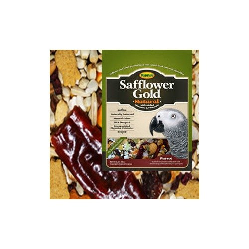 HIGGINS Safflower Gold Food for Parrots, 25-Pound by Higgins