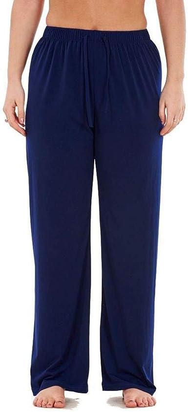 RISTHY Mujer Pantalones de Yoga Pantalones Deportivos con Cordón ...