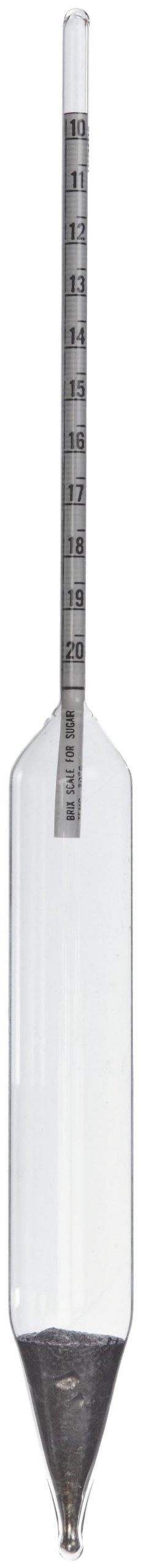 H-B DURAC 10/20 Degree Brix Sugar Scale Hydrometer (B61802-0200)