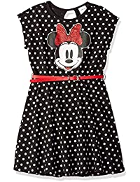 Girls Minnie Mouse Dress with Belt