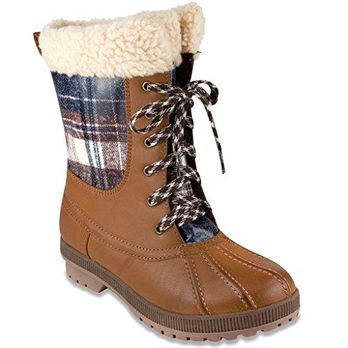 Martens Tartan Plaid Boots - 6