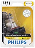 altima 2005 headlights - Philips 12362B1 H11 Standard Halogen Replacement Headlight Bulb, 1 Pack