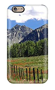 Hard Plastic Iphone 6 Case Back Cover,hot Nice Countryside Scene Case At Perfect Diy