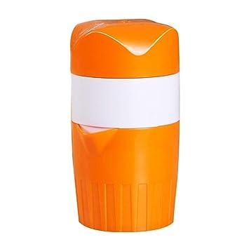 Heaviesk Extractor de jugos Manual de plástico a Mano Exprimidor de Frutas Exprimidor exprimidor de Naranjas