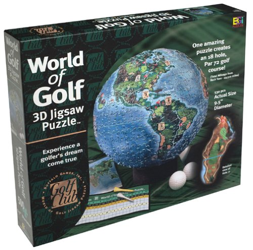 World of Golf (3D Jigsaw Puzzle) -