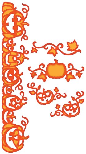 Spellbinders S5-053 Shapeabilities Pumpkin Accents Die Templates by Spellbinders