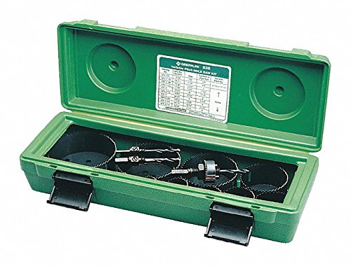 14-Piece Hole Saw Kit for Metal, Range of Saw Sizes: 7/8'' to 4-1/2''