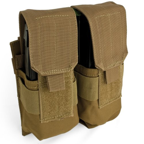 Red Rock Outdoor Gear Double Rifle Mag Pouch, Coyote
