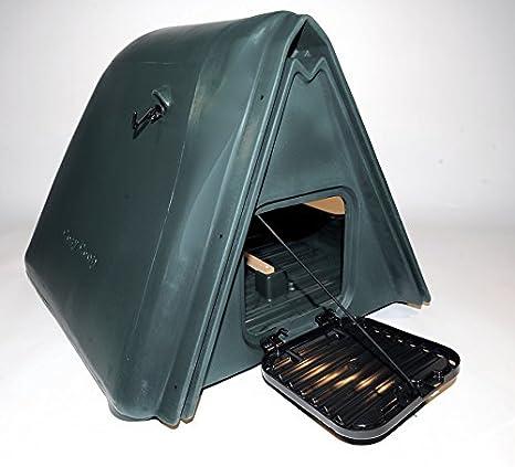 BEC Cosy Coop - Acogedor gallinero de plástico y opción de jaula lateral.: Amazon.es: Productos para mascotas
