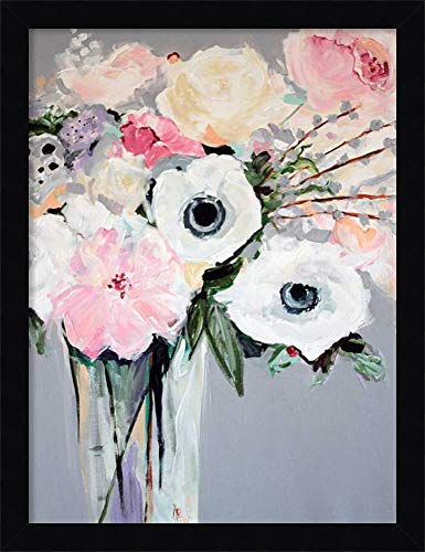 Canvas Art Framed 'Sweetie Pie' by Jacqueline Brewer ()