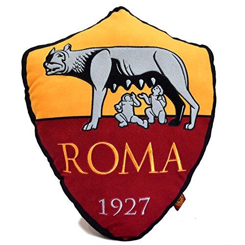 Cojín decorativo con forma del escudo del A.S. Roma, oficial ...