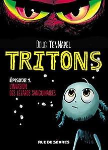 """Afficher """"Tritons n° 1<br /> L'invasion des lezzarks sanguinaires"""""""