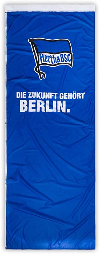 Plus Lesezeichen I Love Berlin Hertha BSC Berlin Schwenkfahne Logo Flagge 60 x 90 cm Fahne
