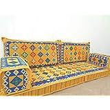 arabic sofa,arabic floor sofa,floor seating,arabic floor seating,arabic cushions,floor sofa,oriental seating,furniture,majlis,jalsa - MA 97