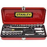 Stanley 89-516-12 46-Piece 1/4 and 3/8 Drive Socket Bit Set