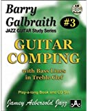 Barry Galbraith Jazz Guitar Study 3 -- Guitar Comping: With Bass Lines in Treble Clef, Book & CD (Jazz Guitar Study Series)